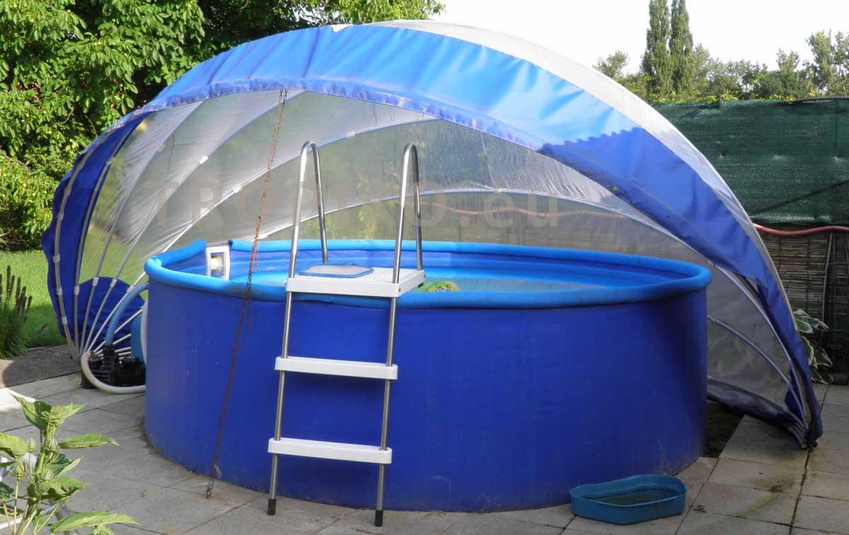 Tropiko 360 tropiko france for Abri de piscine circulaire